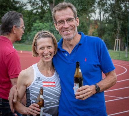 Elisabeth Pöltner-Holkovic und Florian Zeh (gerade zurück von seiner Weltumseglung)