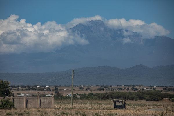 ... und jetzt auch der Mt. Meru vor uns.