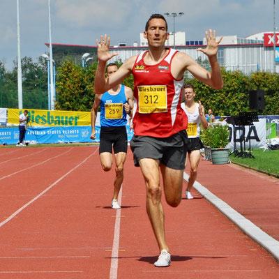 """""""10"""" Staatsmeistertitel (von insgesamt 36) über 1500m Freiluft (Foto: Olaf Brockmann)"""
