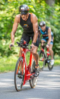 Michael Weiss - er hat schon eine Dopingsperre hinter sich - gewann das Rennen der Männer über die Olympische Distanz