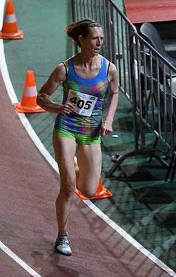 Elisabeth beim 800m-Rekordrennen