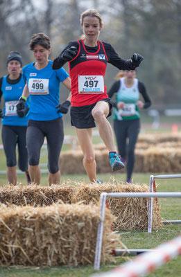 Tanja Bauer wurde nach dem Rennen als Berglauf-Landesmeisterin geehrt