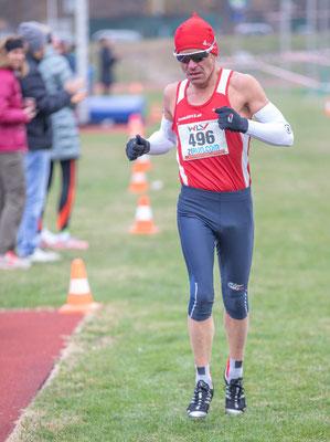 Gerald Holkovic auf der Kurzstrecke