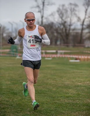 Gerald Holkovic gewann wieder seine Altersklasse (das letzte Rennen in der M 50)