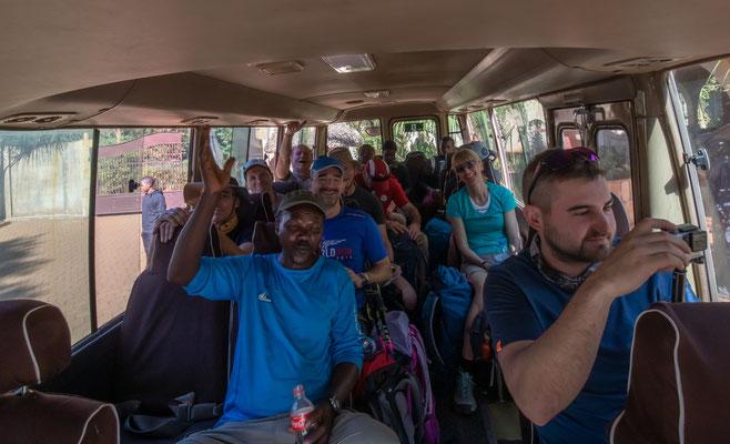 Wir fahren zum Ausgangspunkt der Mt. Meru - Besteigung