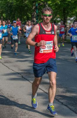 Philipp Meixner in der Anfangsphase des Rennens