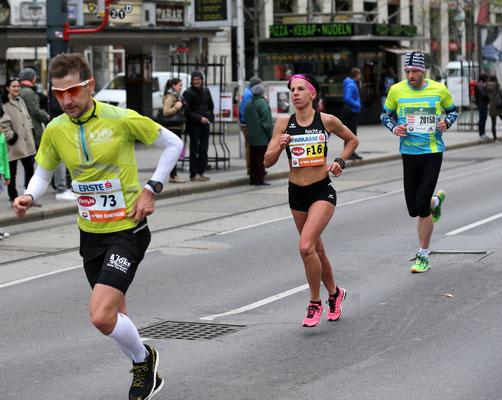Conny Köpper wird zweitbeste Österreicherin.