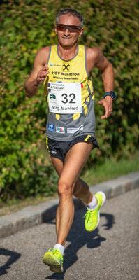 Manfred Pandur, auch einer der von uns betreuten Läufer, gewann die M 50 in 40:01