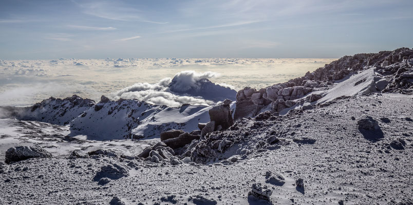 Blick vom Gipfel rundherum