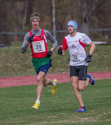 Martin Mistelbauer und Luca Sinn