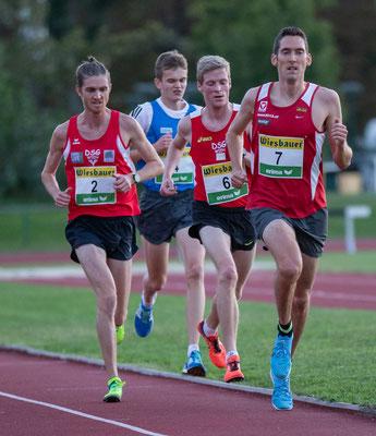 Andreas Vojta und Stephan Listabarth beim Überrunden