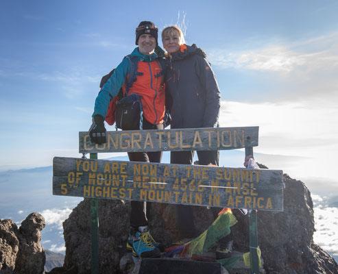 Mt. Meru geschafft