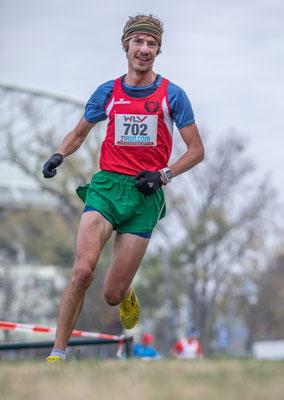 Martin Mistelbauer in der Schlussphase des Rennens