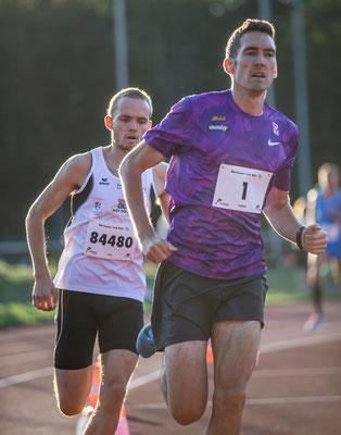 Andreas Vojta als pacemaker für Luca Sinn