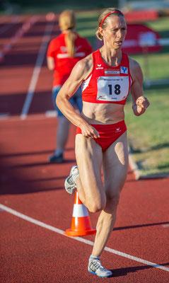 Elisabeth Pöltner-Holkovic war schnellste Dame über 1000m und 5000m