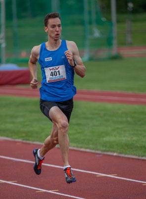 Dominik Stadlmann (ÖBV KUS Proteam) gewann die 600m in ca. 1:23
