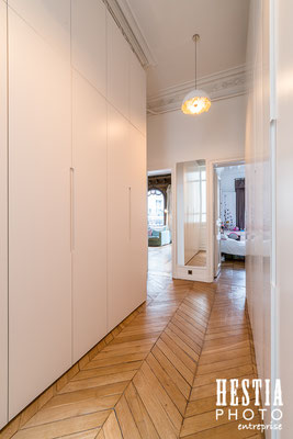 Dressing appartement parisien