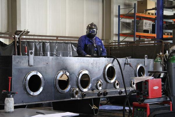 Fertigung, Stahlbau und Montage