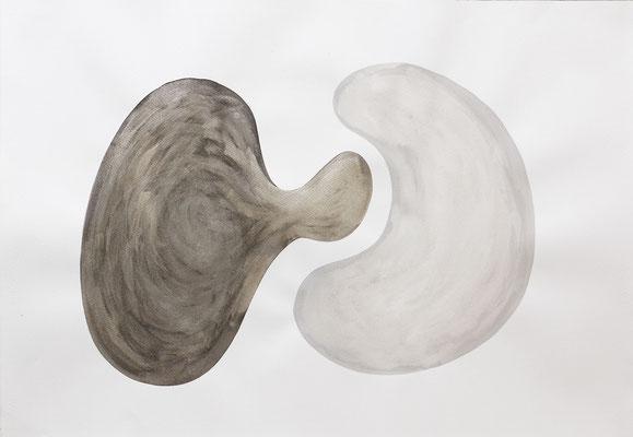 """""""Nosotros dos"""" - Serie Sexopatías - 70 x 100 cm - Tintas - 2014"""