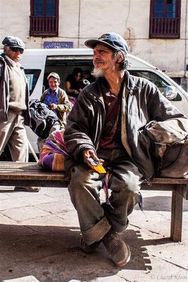beggar in Cusco  -- Peru / Centro De Rescate Taricaya