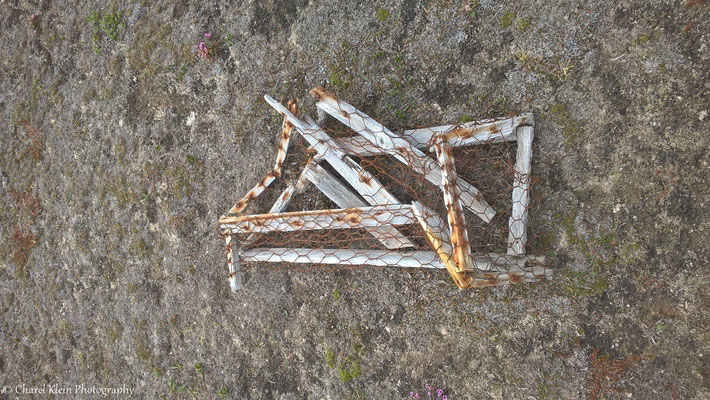 Old trap for arctic foxes
