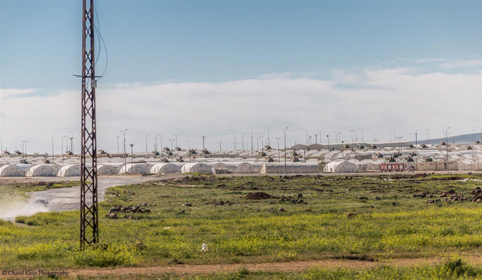 Syrian refugee camp  --  Birecik