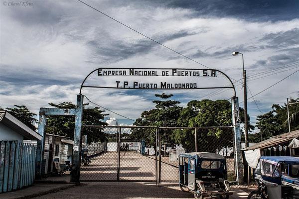 Puerto Maldonado port -- Peru / Centro De Rescate Taricaya