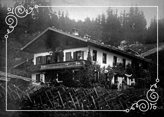 Haus Bartlmä um 1900