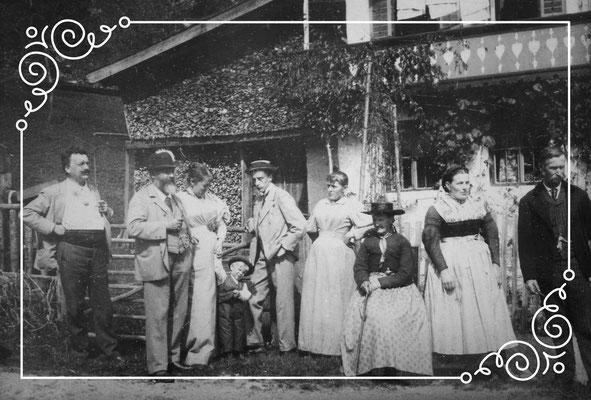 Urlaub um 1900