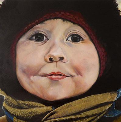 4 in Murmansk | 2014 | 60 x 60 cm | Öl auf Baumwolle