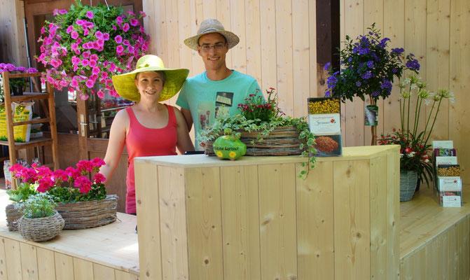 Andreas und Stephanie Strasser, beide Dipl. Ing. Gartenbau (FH)
