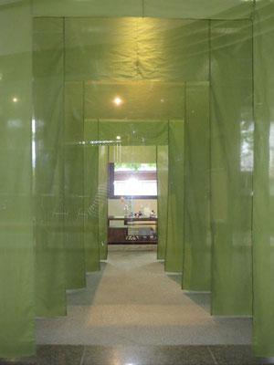 図書館ホールから見た展示(下座敷)しつらえ空間②
