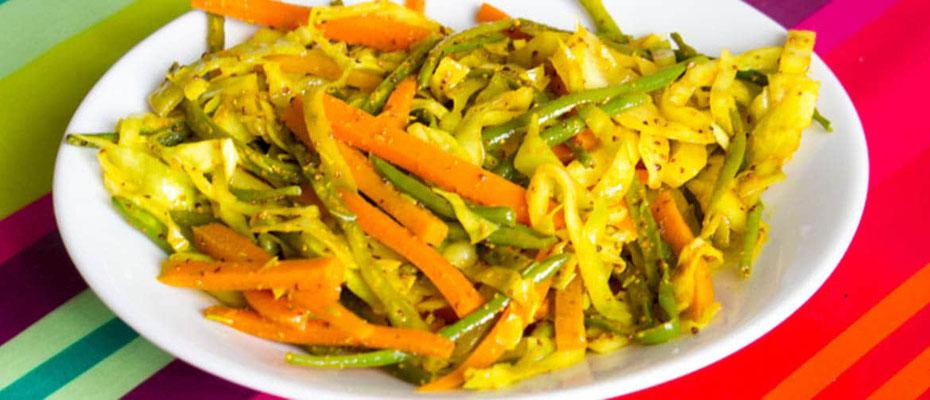 Achard légumes - sucre et cannelle