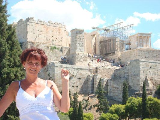 Hatterben az atheni akropolis