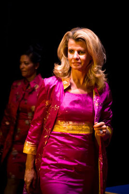 Sari-Kleid mit Mantel