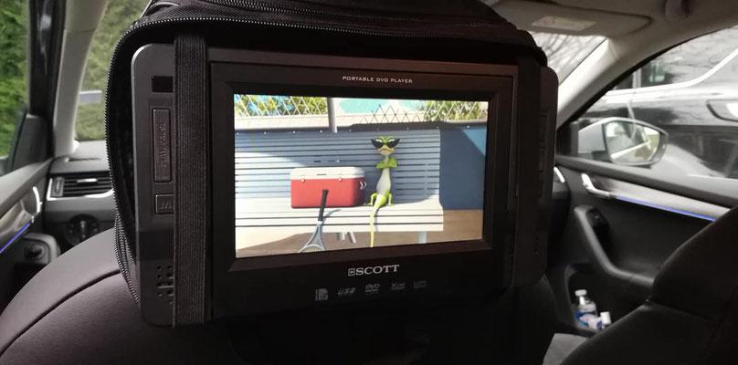 vidéo à bord
