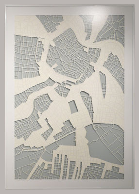 "Vienna, ""Dance"", 2013. 600x900 mm, hand-cut paper."