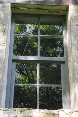 Restauration d'une fenêtre à guillotine