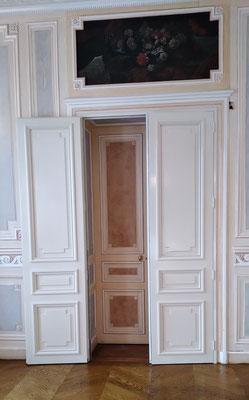 Passage de double-porte entre 2 salles