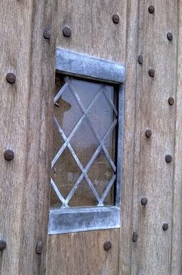 Détail vitrage de porte