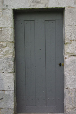 Restauration de la porte d'entrée