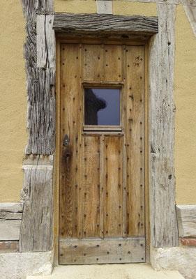 Porte d'entrée avec viquet vitré