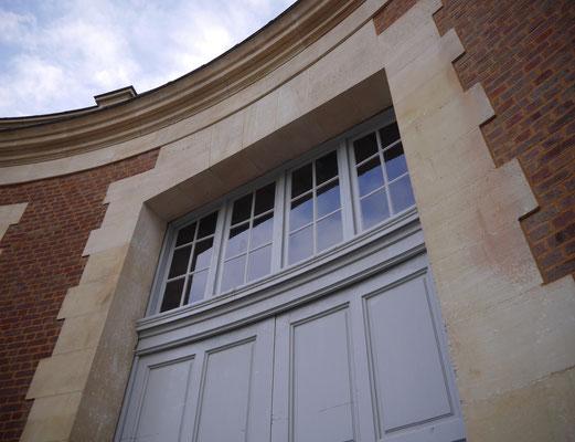 Imposte portail latéral