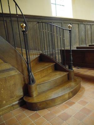 Escalier des tribunes