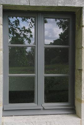 Restitution d'une fenêtre du rez-de-chaussée