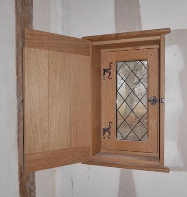 Volets intérieurs en chêne