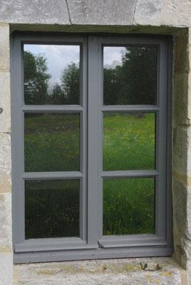 Restauration d'une fenêtre du rez-de-chaussée