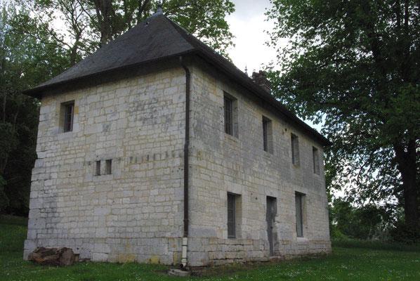 La maison de la prairie après restauration