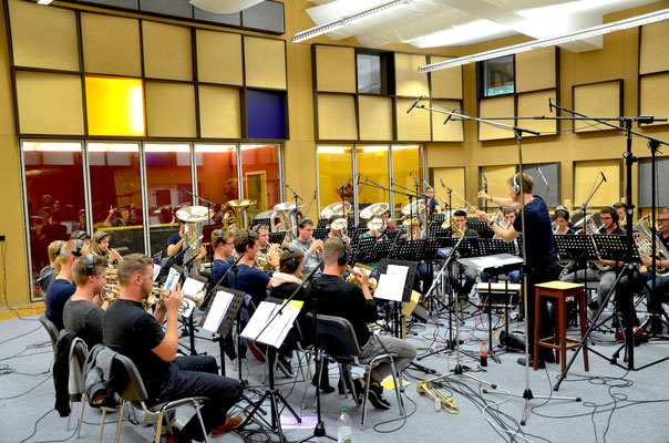 BML (Bürgermusik Luzern) Talents mit Dirigent Patrick Ottiger