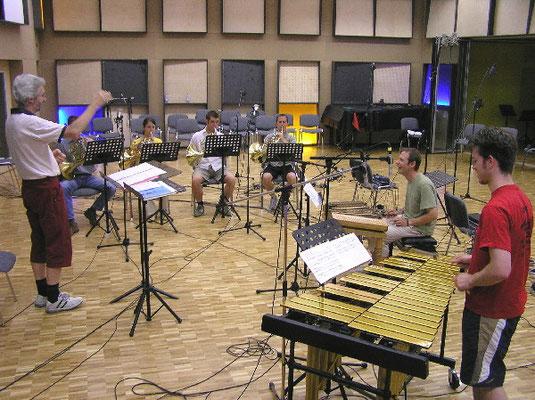 Radio DRS CD-Produktion Schweizer Nationalhymne unter der Leitung von Christoph Cajöri